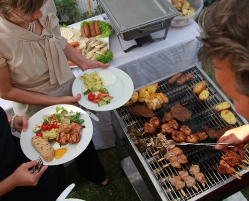 Galerie, Partyservice und Catering Sommerkorn München Grill
