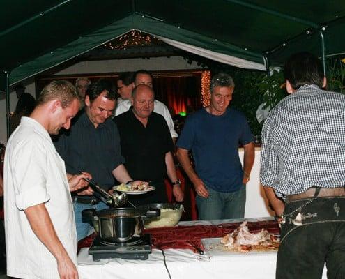 Galerie, Partyservice und Catering Sommerkorn München - Grillabend