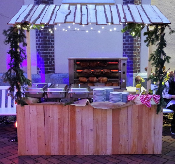 Weihnachts-Catering, Partyservice München