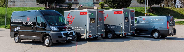 Getränkekühlanhänger-Verleih Catering & Partyservice GmbH