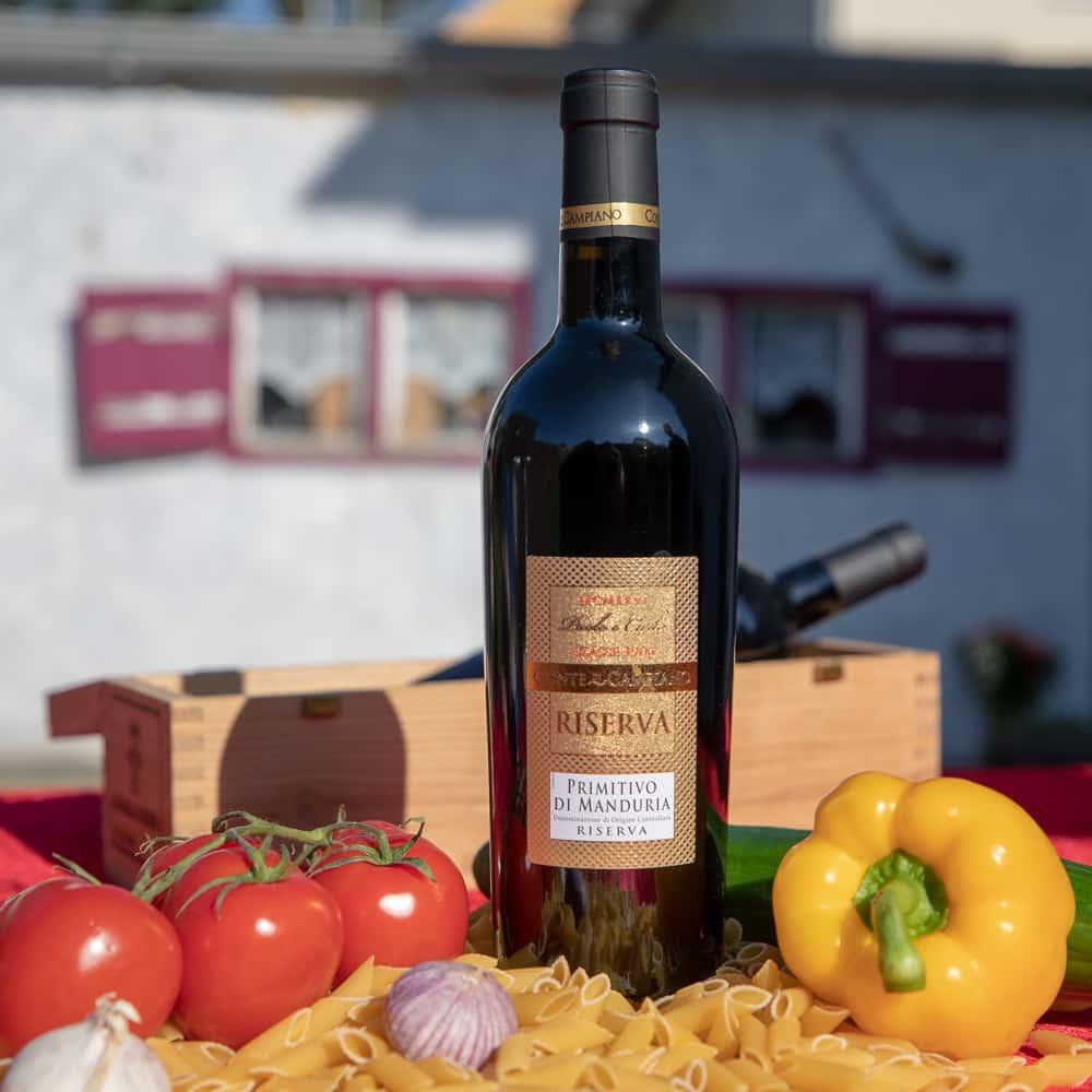 Wein Riserva Primitivo di Manduria